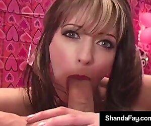 Horny Housewife Shanda Fay Gets Warm Valentine Anal Creampie