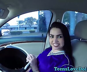 Real teen gets pov fucked