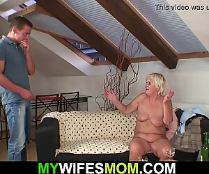 My wifes old mother is boozed and wanna fuck!