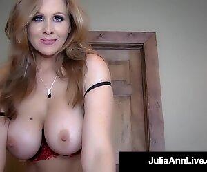 man sausage hungry mummy Julia Ann Sucks Your Hard Cock POV!
