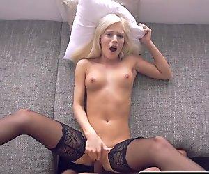 Nubiles-Porn Hot Blonde GF Erotic POV