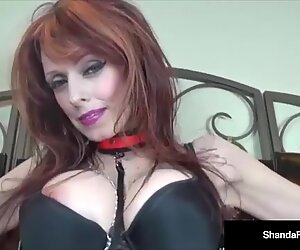 CA Cougar Shanda Fay heads obedient With A phat Black Toy!