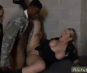 Blonde milf big tits fun xxx Fake Soldier Gets Used as a Fuck Toy